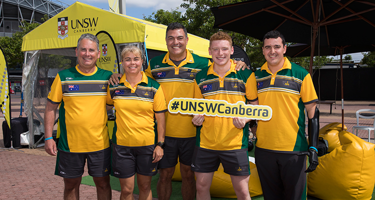UNSW Canberra Invictus Games
