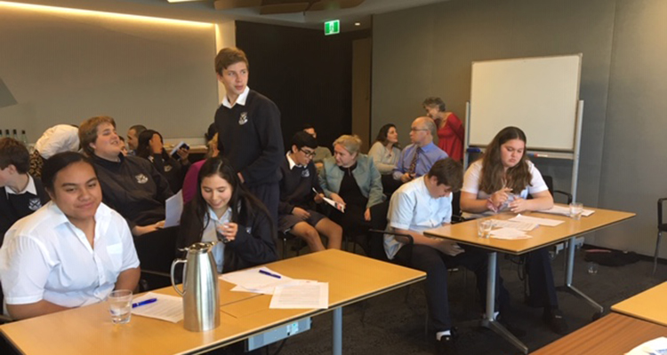 UNSW Legal Team with Matraville High School students