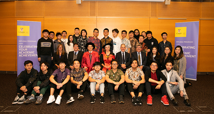 UNSW Global Diploma recipients