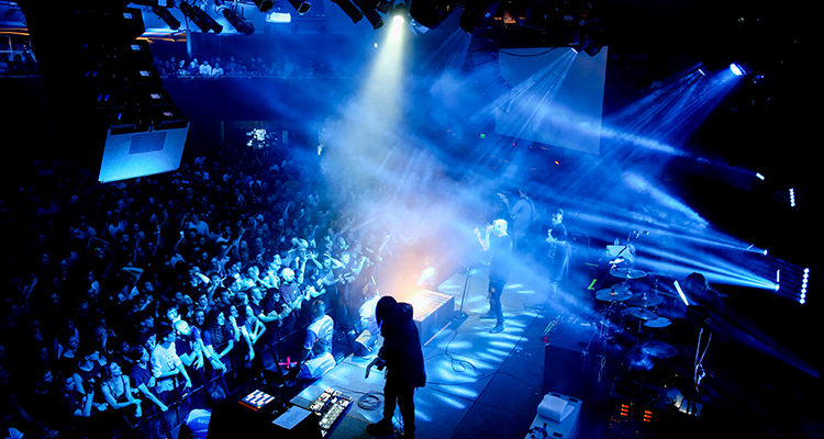 Northlane performing at The Roundhouse