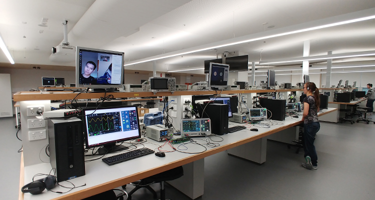 Hands-on lab experience for engineering students